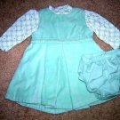 Gap velour dress, onesie 0-3