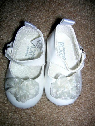 Children's Place dress shoes 0-6 months
