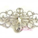 Amazing Vintage Bridal Crystal Detailed Flower Shape Hair Comb Pin HC0001
