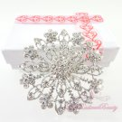 Circular Shiny Crystal Bridal Rhinestone Brooch, Wedding Brooch Jewelry, Bridal brooch BR0024
