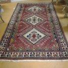 5x10 Handknotted Handmade Authentic Persian Shiraz Rug