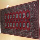 3 x 5 AUTHENTIC 100% HAND KNOTTED ROYAL BOKARA BOKHARA ELEPHANT FOOT PATTERN RUG