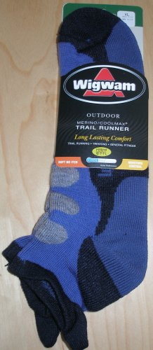 WIGWAM Merino/Coolmax Trail Runner Socks XL