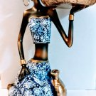 "9"" Yemaya Apetevi Seated Figurine Statue Yemoja Ochun Oya Santeria Oricha 23159A"