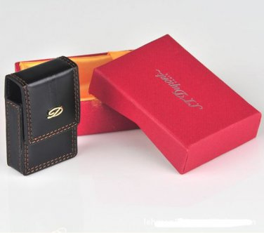 S. T. DUPONT ~ COMPATIBLE LEATHER LIGHTER HOLSTER ~ VERY NICE !!!
