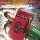 S.T. DUPONT LIGHTER ~ OPUS  X  RED ~ LIMITED EDITION ~ #633/650 ~  MINT !!!