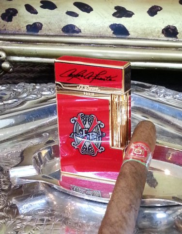 S.T. DUPONT LIGHTER ~ OPUS  X  RED ~ LIMITED EDITION ~ #218/650 ~ NEAR MINT !!!