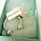 TIFFANY AND CO. KEY CHAIN ~ PLEASE RETURN TO TIFFANY ~RARE ~ SOLID 925  STERLING SILVER  ~ MINT !!