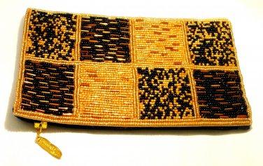 iPurse Purse/Wallet/Pouch -Mondrian Patch Gold/ Phone case/Wallet/Evening purse