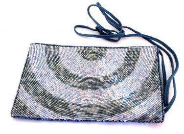 iPurse -Half Circle Silver-Pouch/Wallet/ Phone case/evening purse