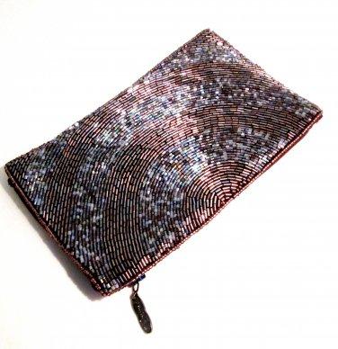 iPurse® -Half Circle Mauve-Pouch/Wallet/ Phone case/evening purse
