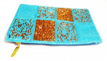 iPurse® Purse/Wallet/Pouch -Mondrian Patch Acqa/ Phone case/Wallet/Evening purse/Pouch