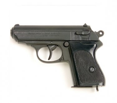 Walther PPK Non Firing Replica Gun James Bond German Metal Prop