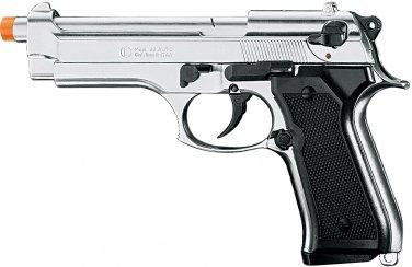 Kimar Berreta Model 92 Front Firing Blank Gun Nickel Finish