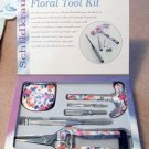 4-Piece Ladies Floral Tool Kit NEW in Box