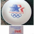 23rd Olympiad XXIII Olympics Los Angeles Plate Rings