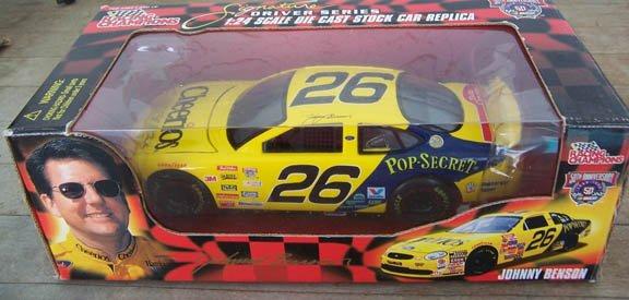 1998 Racing Champions NASCAR Johnny Benson #26 Pop-Secret/Cheeri