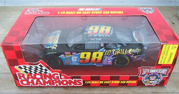 1998 Racing Champions NASCAR Rich Bickle 98 Thorn Apple Valley