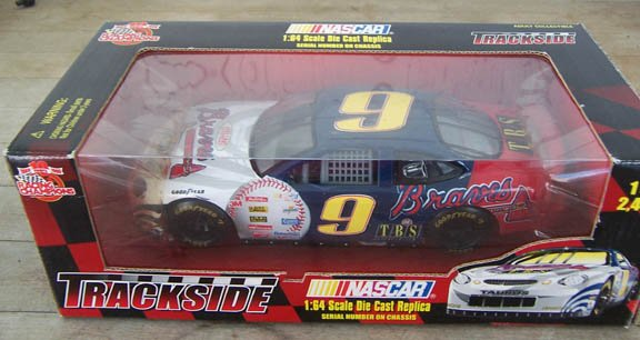 1999 Racing Champ Trackside NASCAR #9 Atlanta Braves