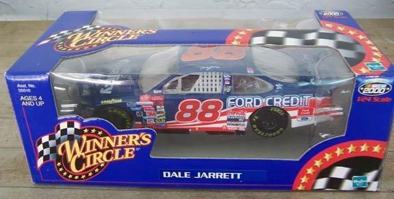 2000 Winner's Circle NASCAR Dale Jarrett  #88 Ford Quality Care