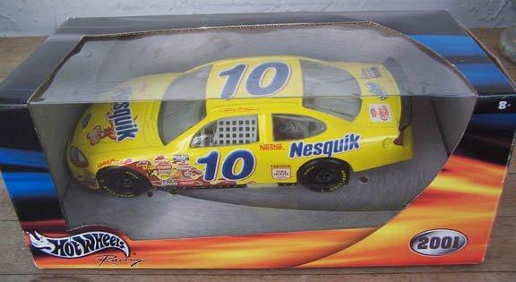2001 Hot Wheels NASCAR Jeff Green #10 Nesquik
