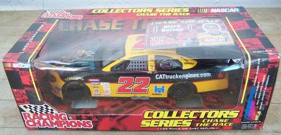 2001 Racing Champions NASCAR Ward Burton #22 CAT