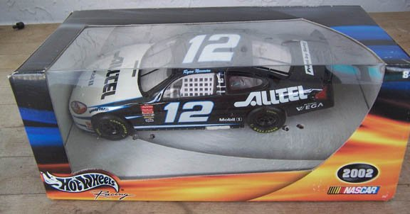 2002 Hot Wheels NASCAR Ryan Newman #12 Alltel