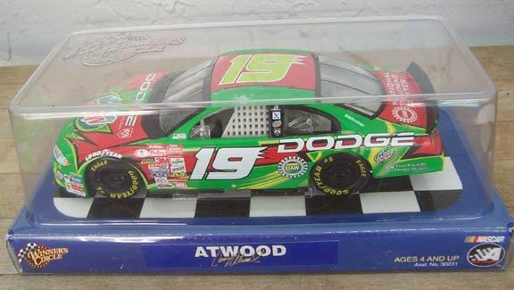 2002 Winner's Circle NASCAR Casey Atwood #19 Mountain Dew