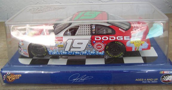 2002 Winner's Circle NASCAR Jeremy Mayfield #19 Dodge
