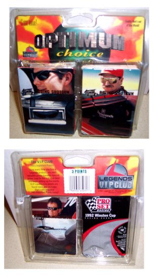Legends Nascar cards 1992 1995 mixed clam pack unopened