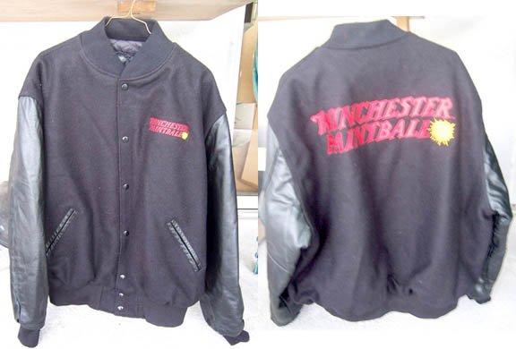 NEW Winchester Paintball Varsity Jacket Black XXL