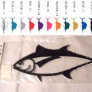 Tuna Vinyl Decal 2 Pack Gold