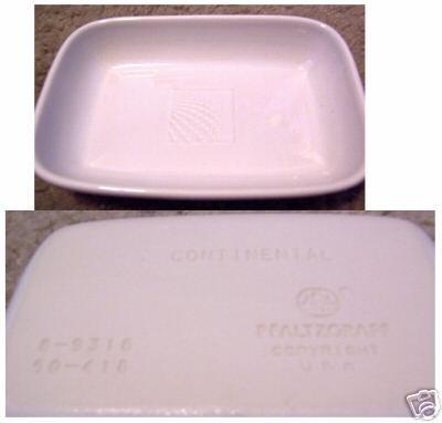 Set of 6 Continental side plates ceramic by Pfaltzgraff