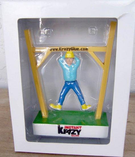 Krazy Glue 35th Anniversary Hanging Man Bobble Body