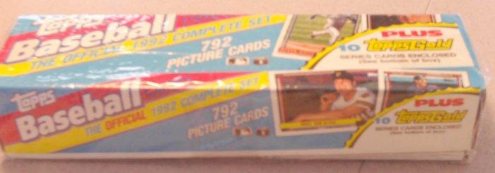 1992 Topps Baseball Cards Factory Set SEALED Ramirez