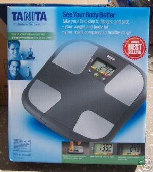 Tanita BF-626 Scale plus Body Fat Monitor NEW in Box