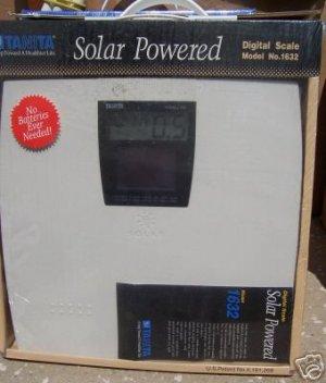 Tanita Model 1632 Solar Powered Scale NEW in Box