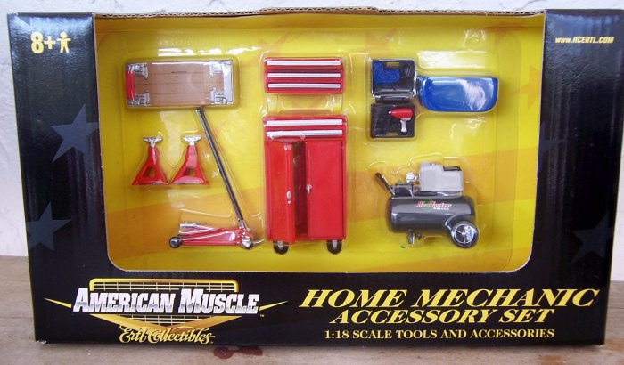 ERTL American Muscle Home Mechanic Accessory Set  NEW