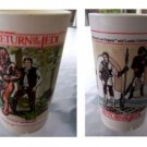 Return of the Jedi Plastic Cups 2 sizes, 1983