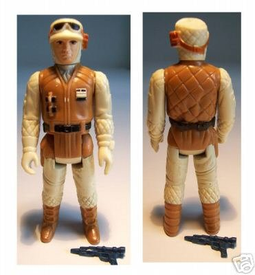 Vintage Rebel Soldier Hoth Battle Gear Complete