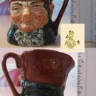 "Royal Doulton Character Jug Old Charley 2-1/4"""" high"