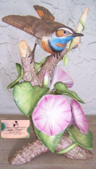 1983 Natl Audubon Arthur Singer Bluethroat Figurine