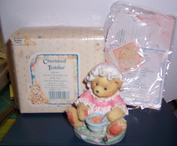 Cherished Teddies #624799 Miss Muffet NEW in Box
