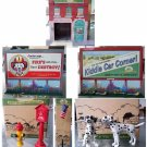 KCC #3617 Fire Station #1 with Accessories NEW