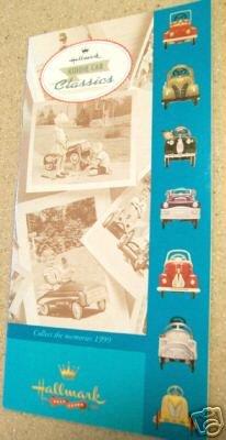 KCC 1999 Kiddie Car Classics Brochure