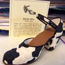 Just the Right Shoe 25036 Bovine Bliss Mint NEW