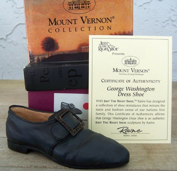 Just the Right Shoe 25414 George Washington Dress Shoe NEW