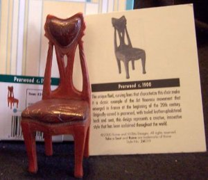 Take a Seat by Raine Pearwood #24019 NEW in Box