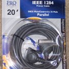 NEW Belkin Pro Series IEEE 1284 Printer Cable 20'