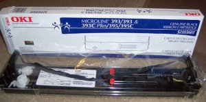 OKIdata Microline Genuine Black Ribbon 52103601